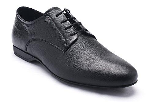 Versace Collections Men Leather Oxford Lace-Up Dress Shoes Black SvtAp9jL