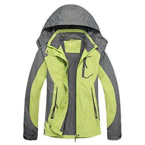 Corrente Outdoor Dimensioni Fruitgreen Sottile Antivento Giacche Lady Impermeabile Grandi Sportswear Di Alpinismo Lai Wu qOwPtzff