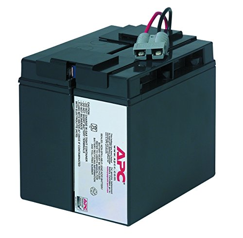 APC UPS Replacement Battery Cartridge for APC UPS Model SMT1500 and select others (RBC7)