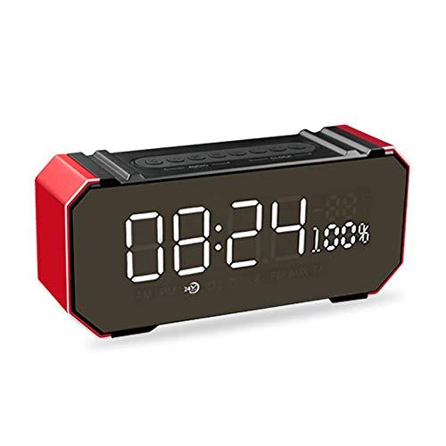 xingganglengyin Private Mode Alarm Clock Bluetooth Speaker Aluminum Wireless car subwoofer Computer Audio Radio by xingganglengyin (Image #6)