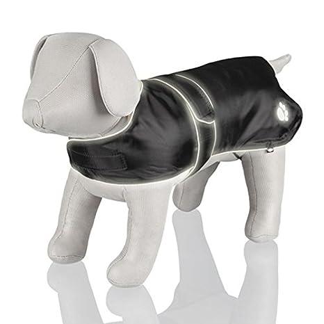 Trixie 30510 - Capa Orléans, XL, 70 cm, Reflectante, Negro: Amazon.es: Productos para mascotas