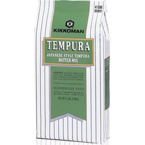 Kikkoman Japanese Style Tempura Batter Mix, 5 Pound -- 6 per case. by Kikkoman