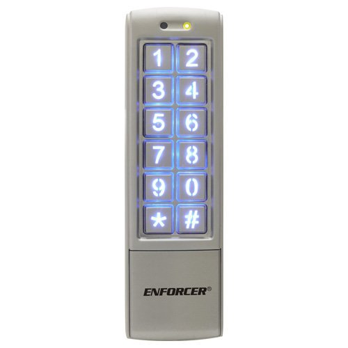 Seco-Larm Enforcer Access Control Keypad, Mullion-Style (SK-2323-SDQ) Usa Inc.