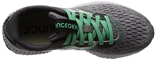 adidas Damen Aerobounce W Laufschuhe Schwarz (Core Black/aero Green S18/hi-res Green S18 Core Black/aero Green S18/hi-res Green S18)