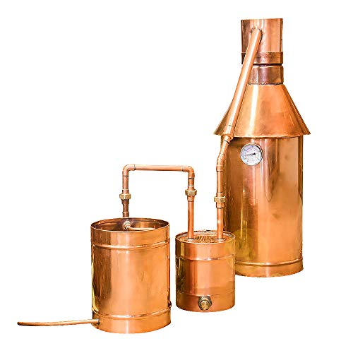 Distillery Network 6 Gallon Copper Moonshine Still with Thumper Keg