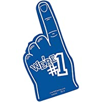 FX We're Number #1 Finger Team Color Cheerleading Foam Hand