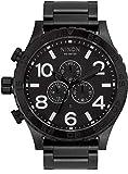 Nixon 51-30 Chrono Men's Underwater Stainless Steel Watch (51mm. Stainless Steel Band) (Black)