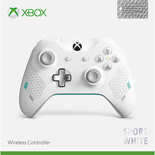 41hTPQP5rnL - Xbox Wireless Controller - Sport White Special Edition