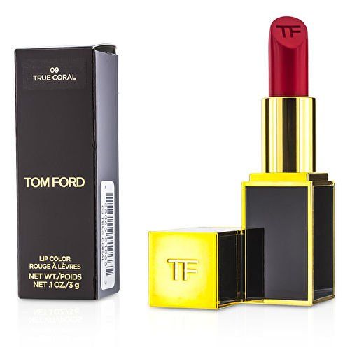 TOM FORD lipstick lip color 09 TRUE CORAL