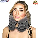 2019 Neck Brace Cervical Traction Device - Fast Relief - Soft & Comfortable Neck Support Collar - Chiropractor Recommended - One Size Fits All