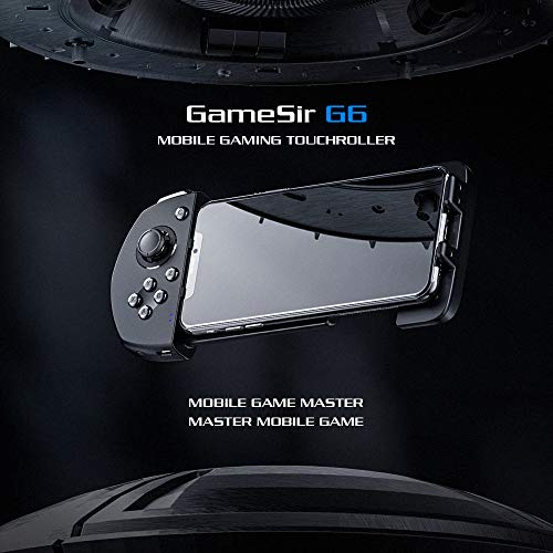 Alician for GameSir G6 Mobile Gaming Touchroller Wireless Controller Bluetooth5.0 with 3D Joystick Trigger Buttons G-Touch Technology for iOS for FPS MOBA Games