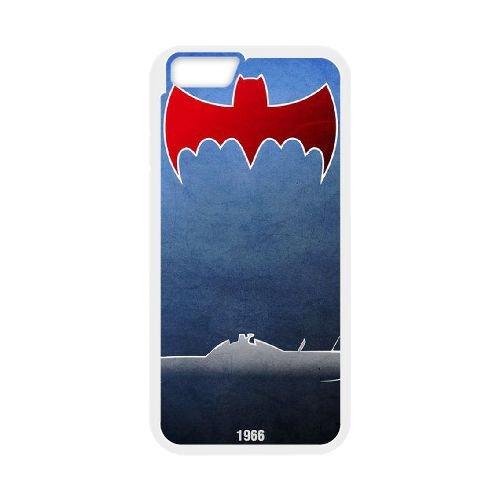 Batman Batmobile coque iPhone 6 4.7 Inch Housse Blanc téléphone portable couverture de cas coque EBDOBCKCO09390