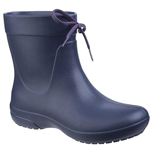 Boots Damen Marineblau Rain Shorty Crocs Gummistiefel Freesail waIdCvq