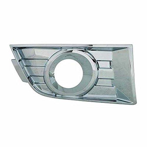 HEADLIGHTSDEPOT Fog Light Compatible with Ford Edge Passenger Side Fog Light Bezel