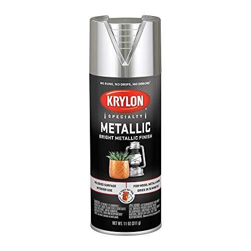 (Krylon 1401 Bright Silver 11 Ounce Aerosol Metallic Paint)