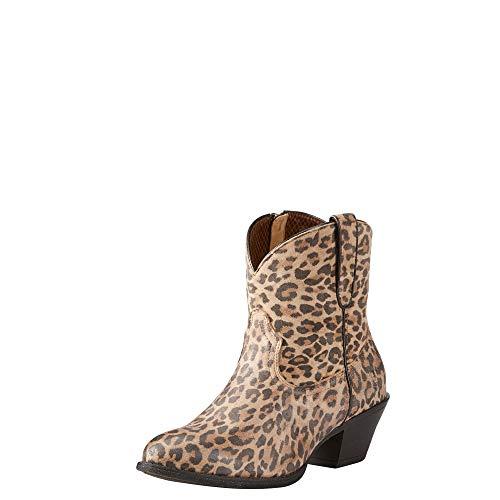 ARIAT Darlin Western Boot Leopard Print Size 7 B/Medium US