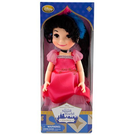 Traditional Costumes All Around The World - Disney It's a Small World Doll, France