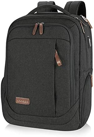 KROSER Laptop Backpack Large Computer Backpack Fits up to 15.6 Inch Laptop
