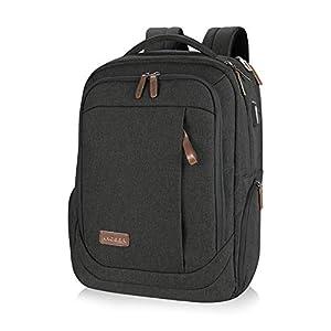 KROSER Laptop Backpack Computer Rucksack 15.6 Inch Travel Business Backpack with USB Charging Port Water-Repellent…