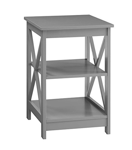 Oxford End Table, Gray ()
