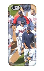 Forever Collectibles Minnesota Twins Hard Snap-on Iphone 6 Plus Case(3D PC Soft Case)