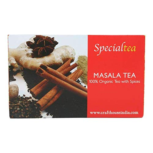 Craft House Masala Chai Tea Bags- 25 x 2 Gms
