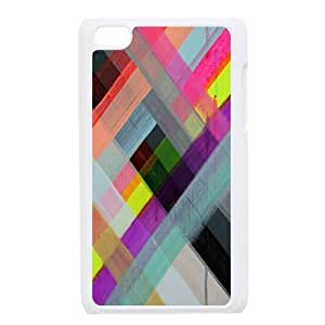 Colorful Stripes DIY For SamSung Note 4 Case Cover personalized phone case ygtg602348
