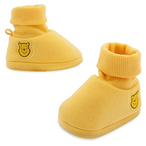 Winnie The Pooh Baby Costume Shoes Yellow Disney (6-12M)