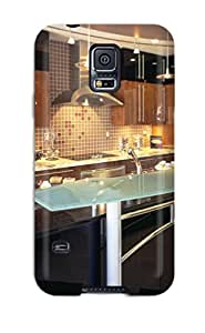 Jaime Olvera Fashion Protective Contemporary Italian Kitchen With Raised Glass Bar Amp Small Pendant Lights Case Cover For Galaxy S5