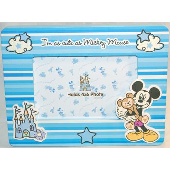 Amazon.com: Baby Boy Mickey Mouse 4x6 Photo Frame: Baby