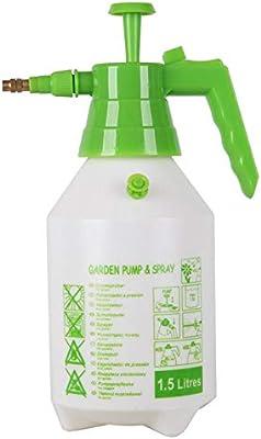 MumuXiDy Pulverizador Pulverizador Manual de presión Gatillo Manual Atomizador Herramientas de jardín Atomizador Nebulizador de Flores Rociador de Agua Botella Aspersor Rociador: Amazon.es: Jardín