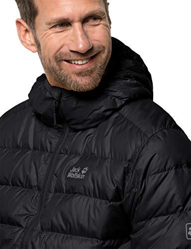 Jack Wolfskin mens Helium Snow Dust Windproof Hyper Dry Down Puffer Jacket