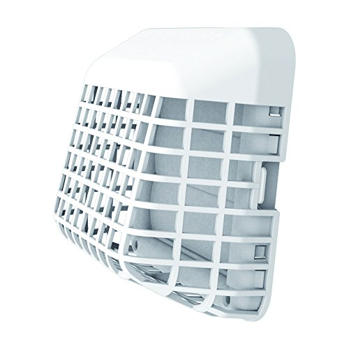 (Deflecto Easy Clean Louvered Dryer Hood with Bird Guard, 4 Inches Hood, White (GH4WEC/2))