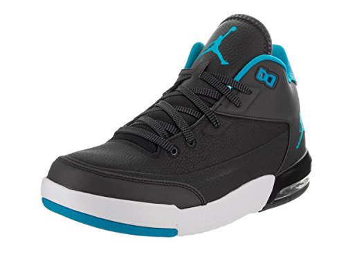 Nike Men Jordan Flight Origin 3 Basketball Shoes, One Size Black (Black / Blue Lagoon-pure Platinum)