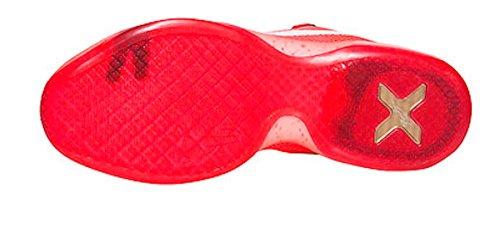 Nike Menns Kobe X Basketball Sko Universitet Rød / Hvit-lys Rød-h