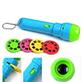 Kids Story Flashlight Toys, Handed Storybook Projector Flashlight Torch Educational Toy for Over 3...