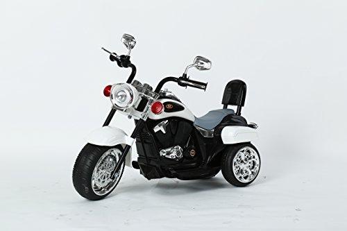 (dti direct Chopper Style Ride on Trike, White)
