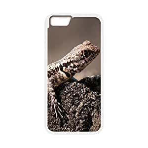 IPhone 6 Case Tiny Lizard for Girls Protective, Luxury Case for Iphone 6 Case Tyquin, [White]