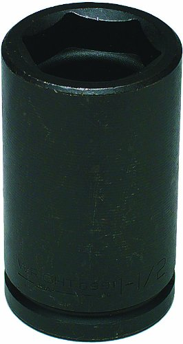 Wright Tool 6991 1-1/2-Inch Hex by 13/16-Inch with 3/4-Inch Drive Combination Budd Wheel Socket ()