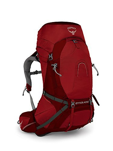Osprey Packs Pack Atmos Ag 50 Backpack, Rigby Red, Medium [並行輸入品] B07DVHXSLN