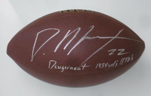 Doug Martin Autographed Football (Buccaneers) w/ Proof!
