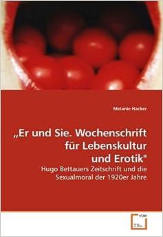 Book ¿Er und Sie. Wochenschrift für Lebenskultur und Erotik