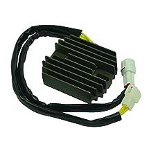 Motorcycle Aluminum Voltage Rectifier Regulator For Bandit 1250 2007-2009 Bandit 1250S 2009 B-King GSX1300 2008-2009