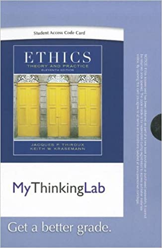 Ethics Theory And Practice 11th Edition Ebook