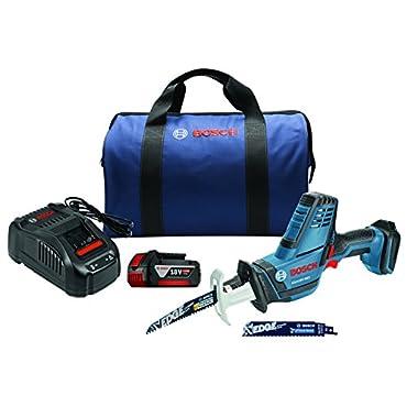 Bosch GSA18V-083B11 18V Compact Reciprocating Saw Kit