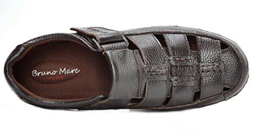 Bruno Marc Menns Havana Utendørs Fisker Sandaler 01-brun