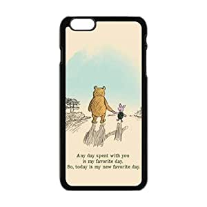 Artistic bear and rabbit Cell Phone Case for Iphone 6 Plus