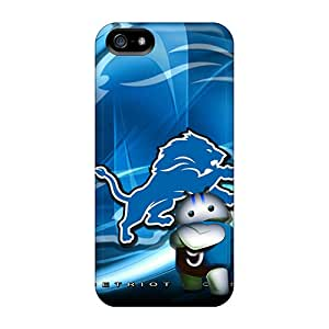 DannyLCHEUNG Iphone 5/5s Protective Hard Phone Case Allow Personal Design Stylish Detroit Lions Pattern [zYL14845IQbG]
