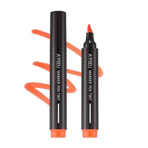 [A'PIEU] Marker Pen Tint OR01 All Day Orange
