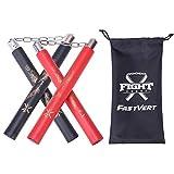 fastvert 2 Pairs Durable Nunchucks,Lightweight Foam